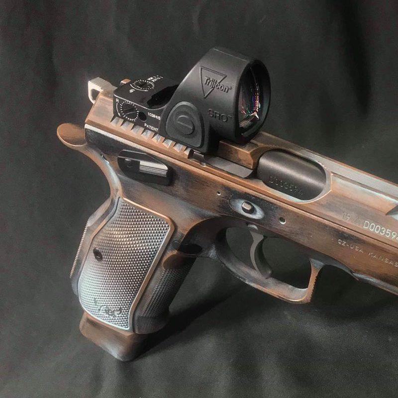 Optic Sight Milling - Cajun Gun Works
