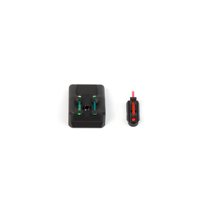 CZ 75 D PCR Compact Fiber Optic Front and Rear Sight Set