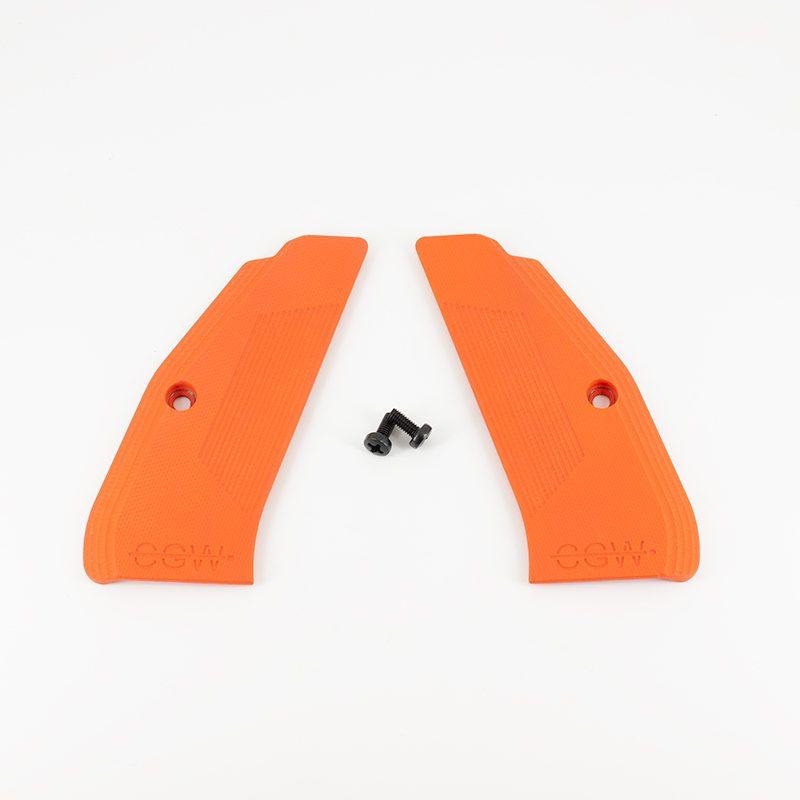 Full Size G10 Grips - Orange