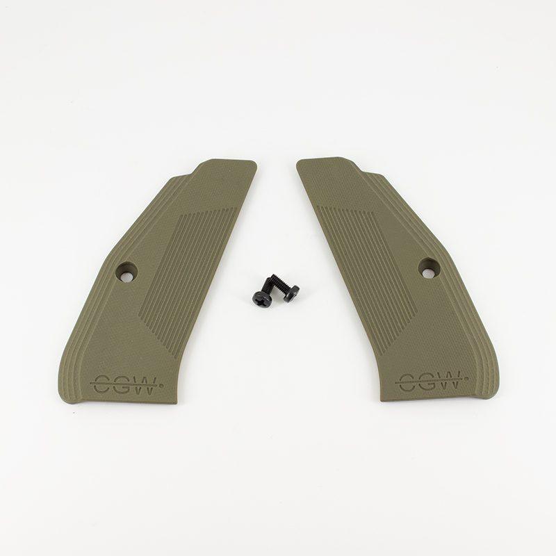 Full Size G10 Grips - Olive