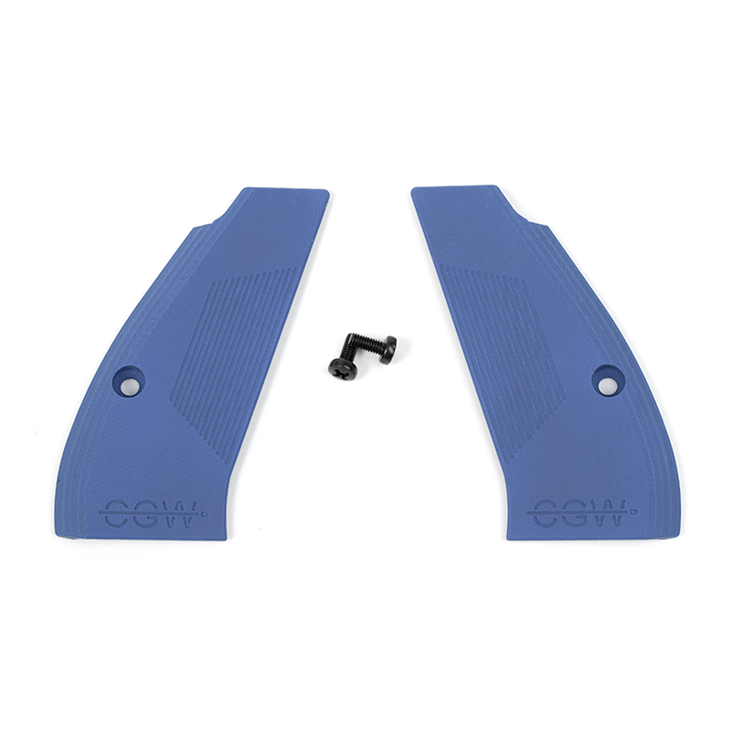 Compact G10 Grips - Blue