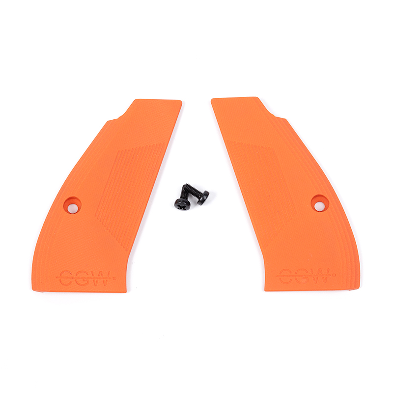 Compact G10 Grips - Orange