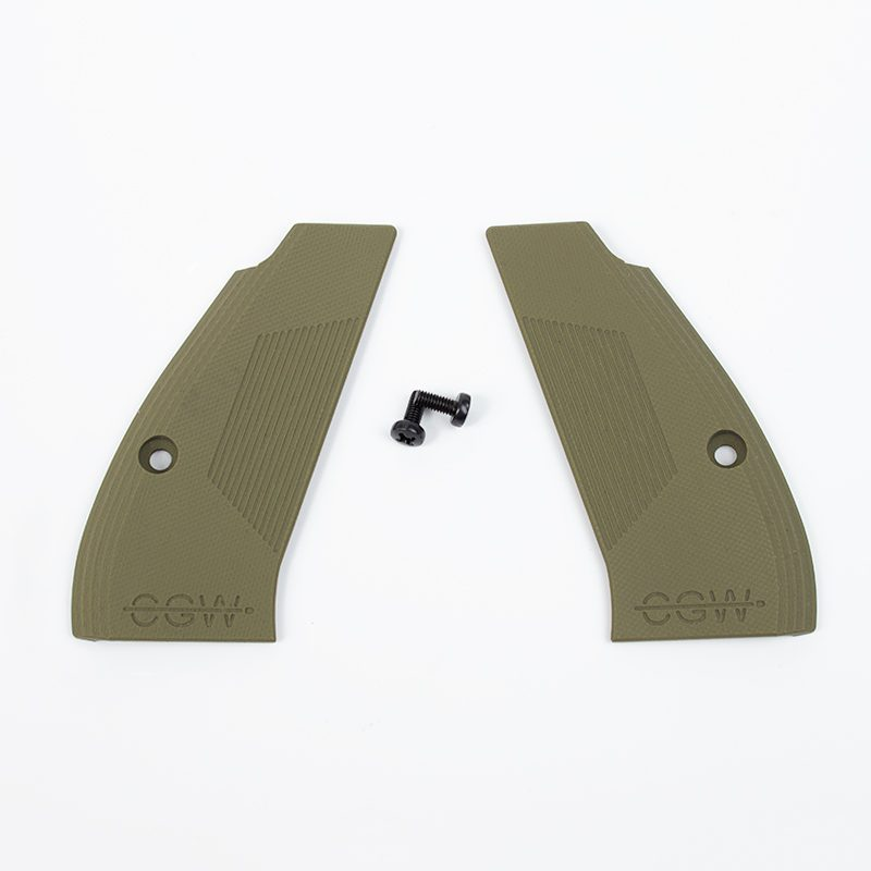 Compact G10 Grips - Olive