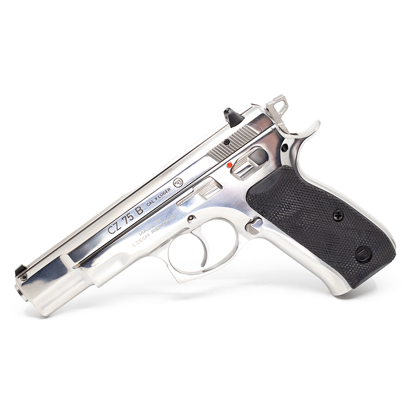CZ 75B Polished Stainless Steel